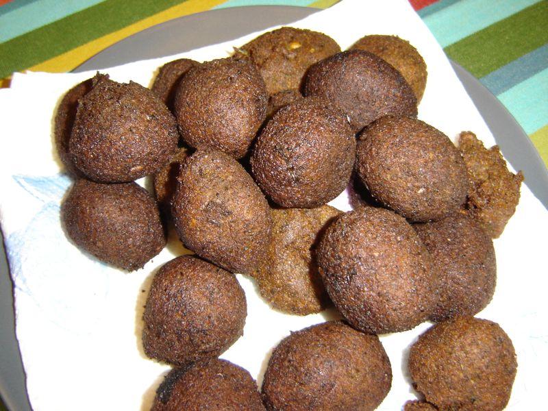 Falafel,kibbeh perogies 016